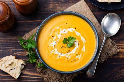 Pomysły na zupę krem z żółtych warzyw